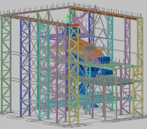 New Screen Structure Building including Conveyor Modification drawings  for Taggart/LSL Engineering